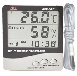 288ATH Thermo hygro meters