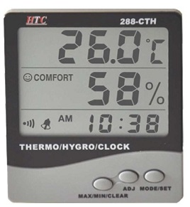 288 Cth Thermo hygro meters