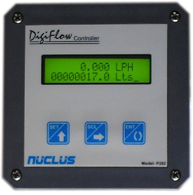 Digital flow Indicator Panel Mounting