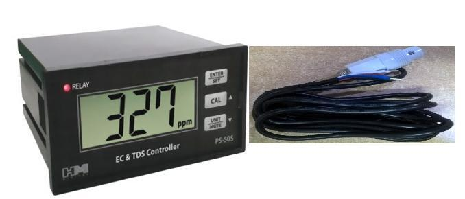 Digital on line TDS Conductivity controller