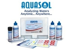 Aqua sol Water hard ness test kit